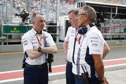 Paddy Lowe, Williams Formula 1, y Mike O' Driscoll, CEO de Williams