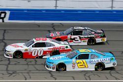Daniel Hemric, Richard Childress Racing Chevrolet, Cole Custer, Stewart-Haas Racing Ford e Ty Dillon