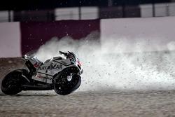 Crash; Karel Abraham, Aspar Racing Team