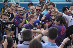 Ganador de la carrera Sam Bird, DS Virgin Racing