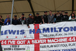 Fans at the British Grand Prix