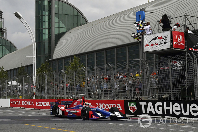 Platz 2 für Alexander Rossi, Herta - Andretti Autosport Honda