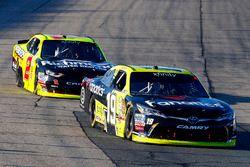 Matt Tifft, Joe Gibbs Racing Toyota and Ben Kennedy, GMS Racing Chevrolet