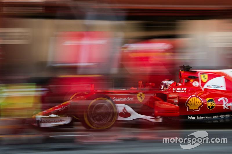2017: Kimi Raikkonen, Ferrari SF70H: 1:18.634