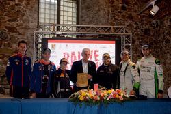 La conferenza stampa finale del Rallye Sanremo 2017