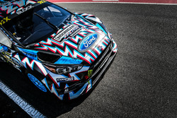 The car of Ken Block, Hoonigan Racing Division, Ford Focus RSRX