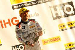 Second place Colin Turkington, Team BMW BMW 125i M Sport