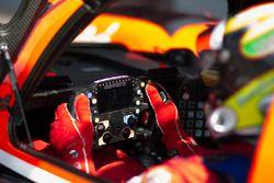 TDS Racing Oreca 07 Gibson, dettaglio del volante