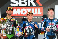 Ganador, Sheridan Morais, Kallio Racing Yamaha, segundo, Kenan Sofuoglu, Kawasaki Puccetti Racing, t