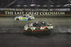 Ray Black Jr., SS-Green Light Racing Chevrolet, Joey Logano, Team Penske Ford