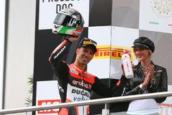 Podium: tercero, Marco Melandri, Ducati Team
