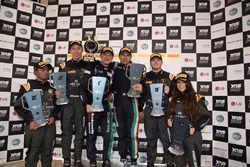 Podium: race winner #72 Antonelli Motorsports: Marco Antonelli, Davide Roda, second place #5 FFF Racing Team: Parth Ghorpade, Jack Bartholomew, third place #15 FFF Racing Team: Carrie Schreiner, Richard Goddard