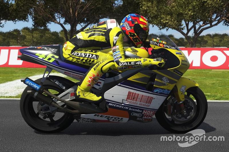 Valentino Rossi, Honda NSR500 2001