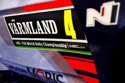 Detail: Hayden Paddon, John Kennard, Hyundai i20 Coupe WRC, Hyundai Motorsport