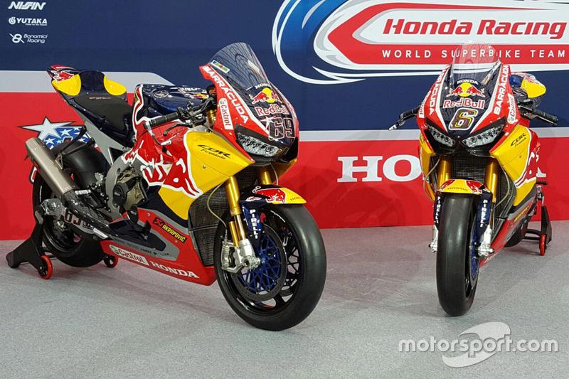 Motos de Nicky Hayden, Honda World Superbike Team, Stefan Bradl, Honda World Superbike Team