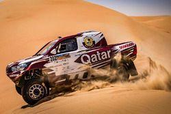 ناصر العطية، تويوتا هايلوكس رالي قطر الدولي