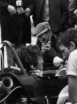 Йохен Риндт, Lotus 49B-Ford Cosworth и его супруга Нина