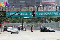 Bernd Maylander, AMG Mercedes Benz CLK DTM choque