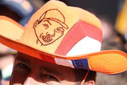 Un fan néerlandais