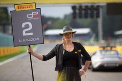 Pirelli gridgirls