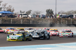 Omar Martinez, Martinez Competicion Ford, Esteban Gini, Alifraco Sport Chevrolet, Juan Pablo Gianini