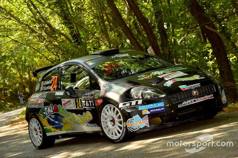 Federico Santini, Andrea Gabelloni, Abarth Grande Punto S2000, ART-Motorsport