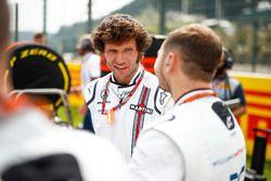 Guy Martin, con il team Williams