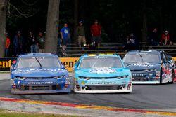Daniel Hemric, Richard Childress Racing Chevrolet, Elliott Sadler, JR Motorsports Chevrolet and Bren