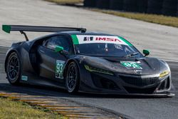 #93 Michael Shank Racing Acura NSX: Andy Lally, Jeff Segal