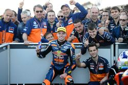 Race winner Brad Binder, Red Bull KTM Ajo, KTM