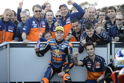 Race winner Brad Binder, Red Bull KTM Ajo, KTM