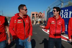 Hans - Jürgen Abt and Lucas di Grassi, ABT Schaeffler Audi Sport