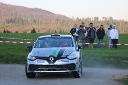 Florian Gonon, Sarah Tharin, Renault Clio R3T