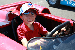 A young driver