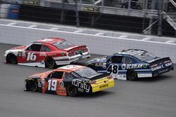Райан Рид, Roush Fenway Racing Ford, Мэтт Тиффт, Joe Gibbs Racing Toyota и Бреннан Пул, Chip Ganassi