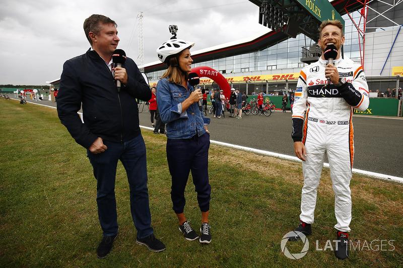 David Croft, Sky Sports F1, Natalie Pinkham, Sky Sports F1, Jenson Button, McLaren