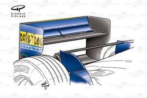 Prost AP04 2001, ala posteriore dell'Ungheria