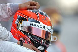 Helmet of Esteban Ocon, Manor Racing