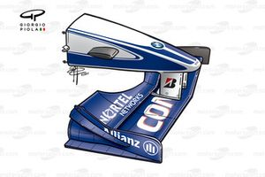 Williams FW22 2000 US front wing
