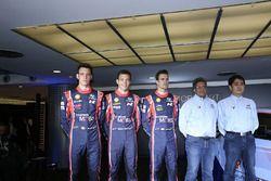 Презентация Hyundai i20 Coupe WRC: Хейден Пэддон, Дани Сордо, Тьерри Невилль и руководитель Hyundai