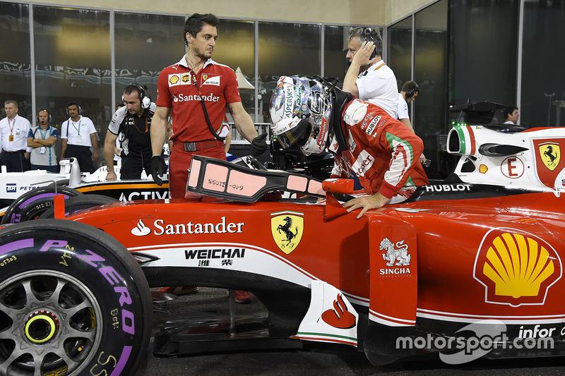 Abu Dhabi 2016 - Sebastian Vettel, Ferrari
