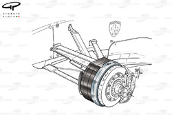 Ferrari F2001 front brakes