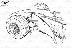 Déflecteurs de la McLaren MP4-14