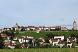 La ville médiévale de Romont