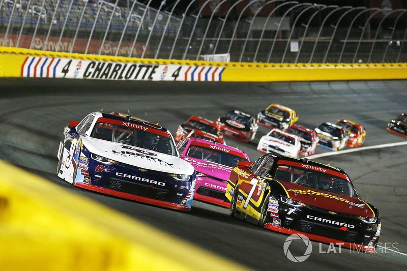 Justin Allgaier, JR Motorsports Chevrolet, William Byron, JR Motorsports Chevrolet
