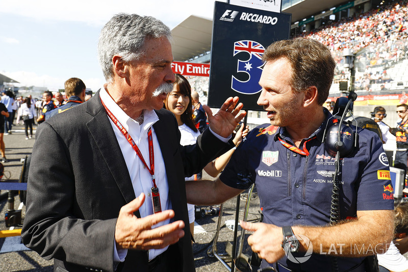 Chase Carey, Formula One, Christian Horner, Red Bull Racing