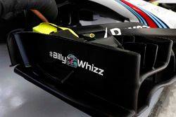 Хэштег #BillyWhizz на Williams FW40