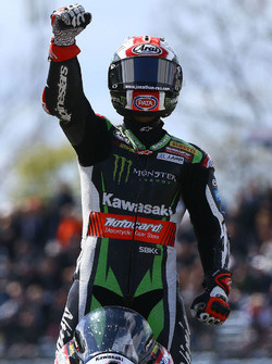 Race winner Jonathan Rea, Kawasaki Racing