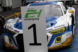 Winnaar #5 Phoenix Racing, Audi R8 LMS: Mike Rockenfeller, Nicolay Møller Madsen, Dennis Busch