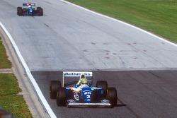Ayrton Senna, Williams FW16, Roland Ratzenberger, Simtek S941